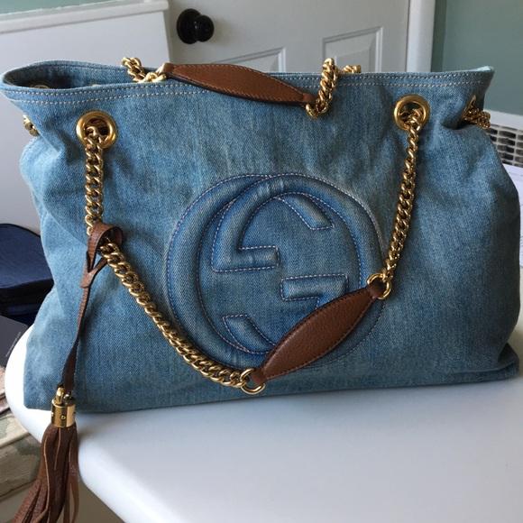 40746c6c6 Gucci Bags | Soho Denim Shoulder Bag | Poshmark